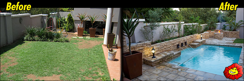 garden design before and after