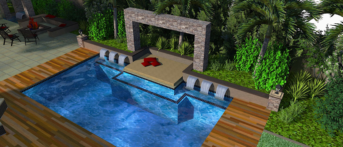 3d landscape drawing images galleries for 3d garden design