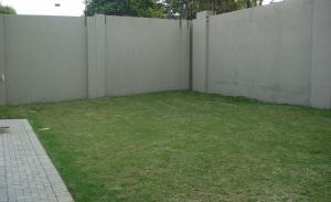 Garden landscape design handover