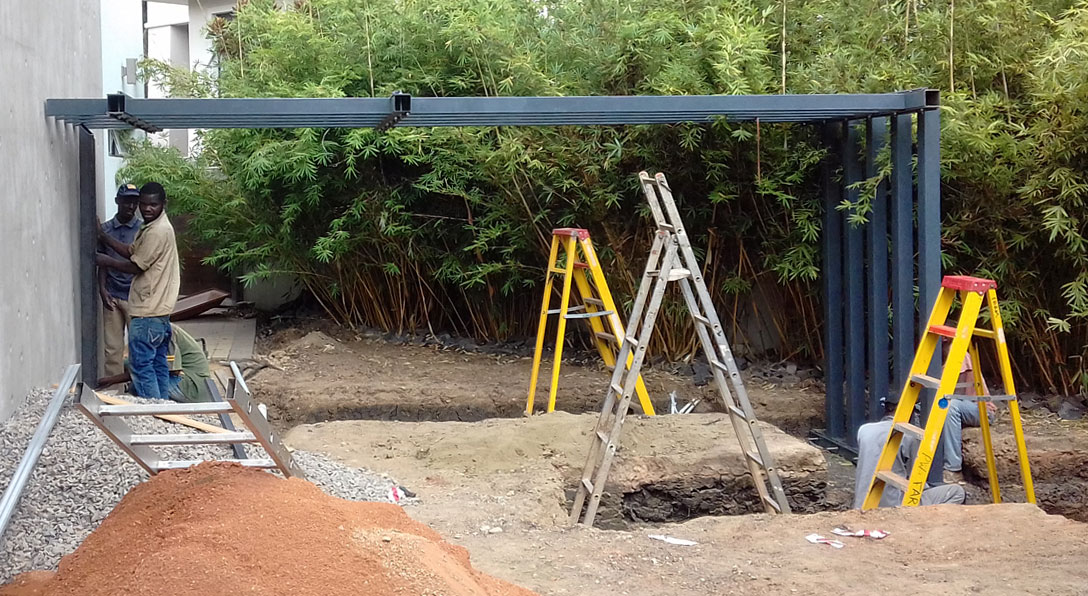 Our garden landscaping process from start to finish